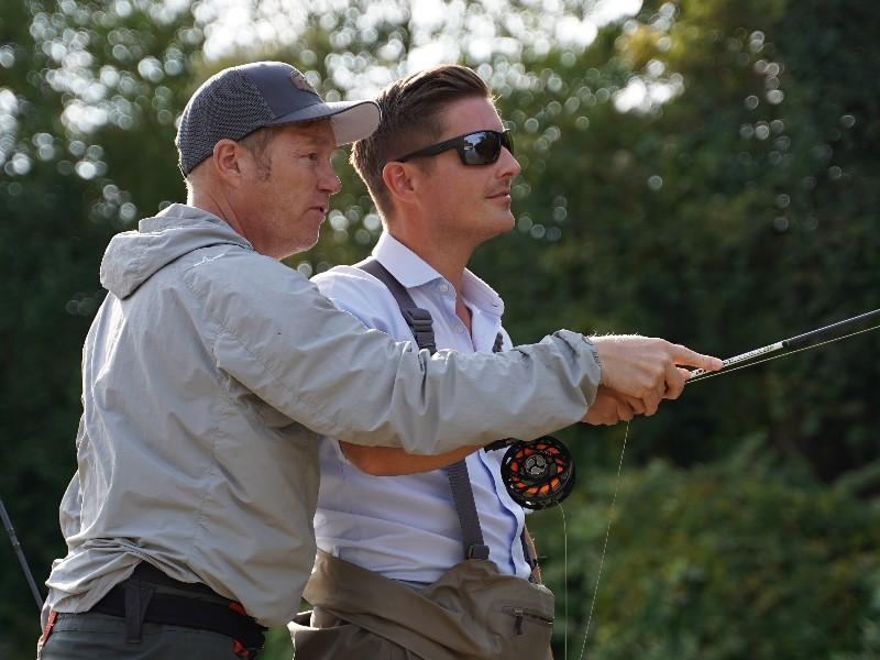 Klejch Fliegenfischen Kurs Christopher Rownes