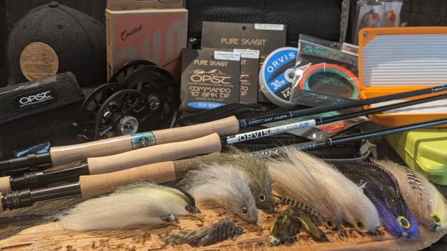 Die beste Ausrüstung zum Fliegenfischen auf Huchen.