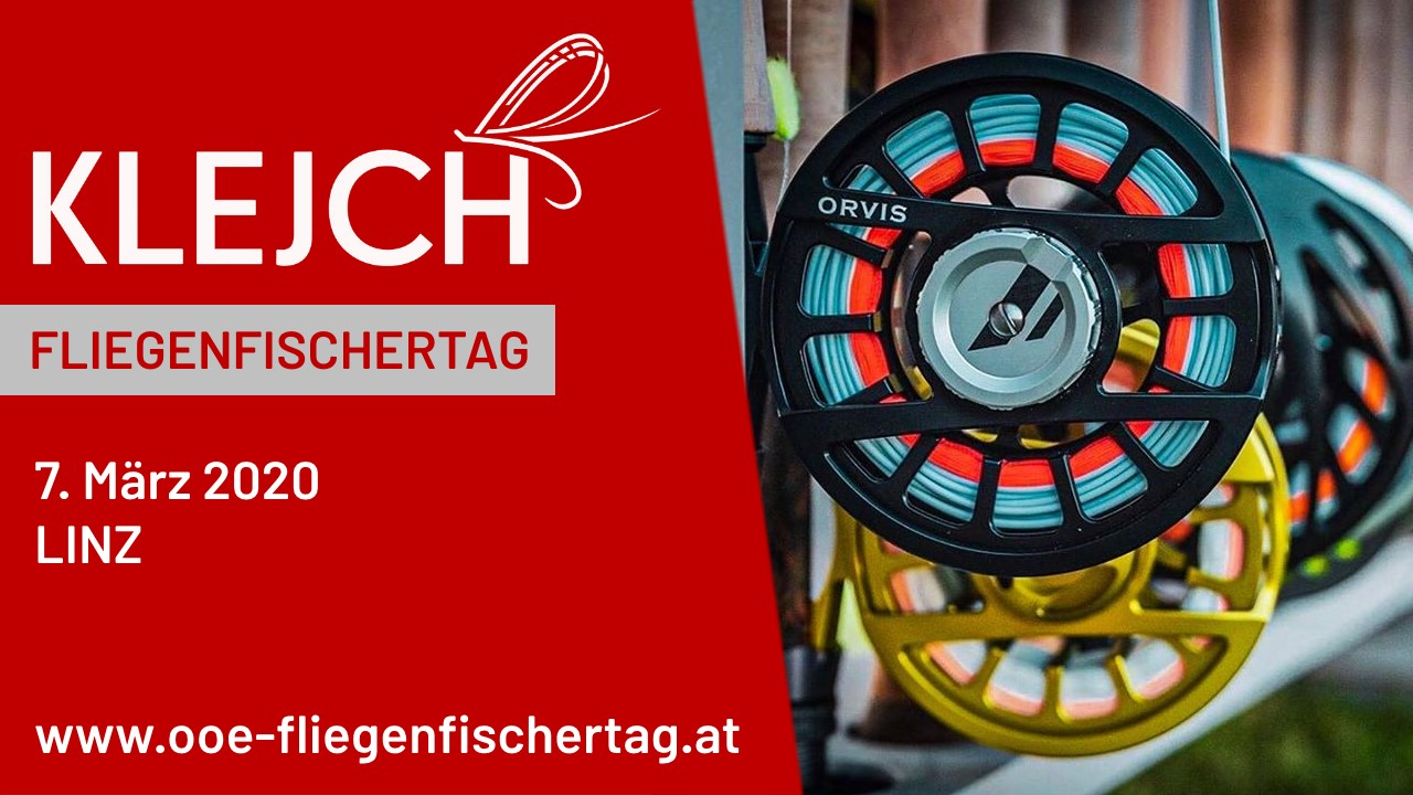 Klejch Fly Fishing & Outdoor am OÖ Fliegenfischertag 2020