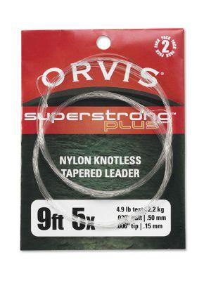 Orvis SuperStrong Plus Leader Vorfach 2er Pack