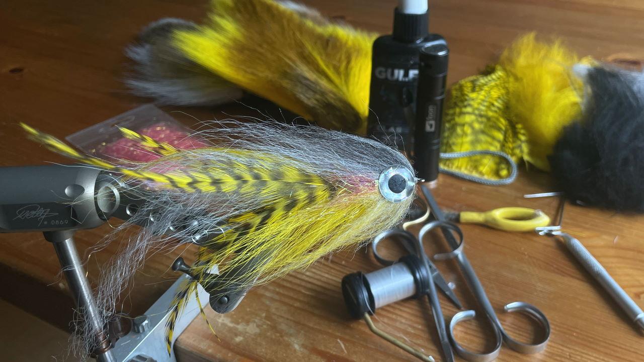 Predator Streamer Kurs Fliegenbinden