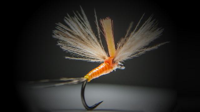 Fliegen von Ado zum Fliegenfischen
