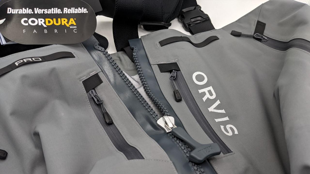 Orvis Pro Zipper Wathose - Cordura & Tzip