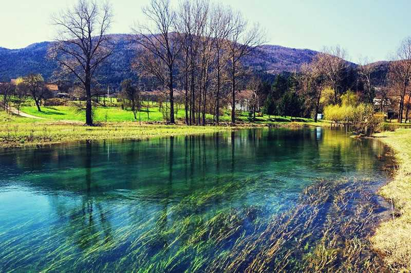 Fliegenfischen Gacka Bosnien